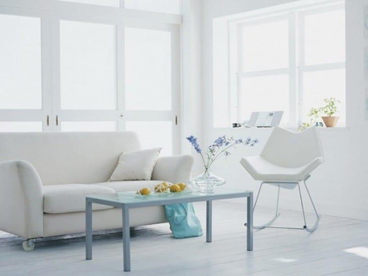 interior sofa blanco