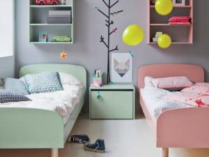 Colores para dormitorios mixtos