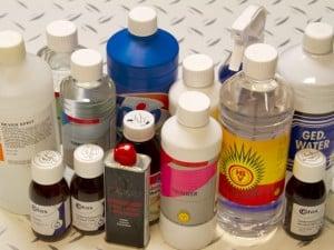 Tipos de diluyentes o disolventes para pinturas, y para qué se usan