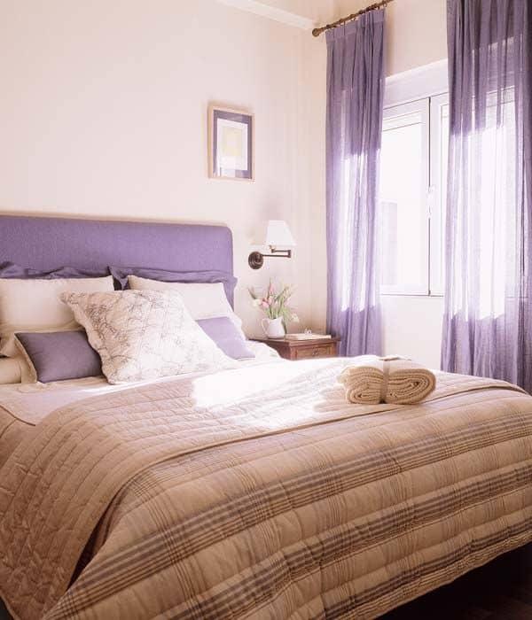 dormitorio malva beige