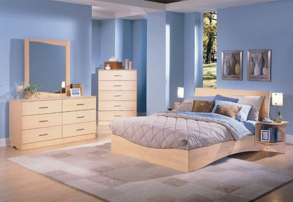 Las maderas claras for Muebles oscuros paredes claras