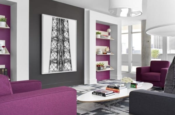 Combinaciones de colores modernas for Colores para pintar un apartamento moderno