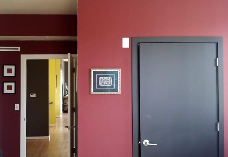 Puerta pintura mate