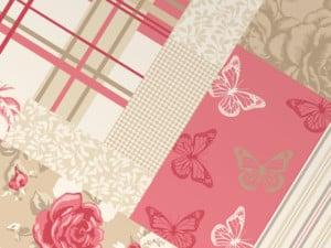 Cómo hacer un patchwork en paredes con papeles
