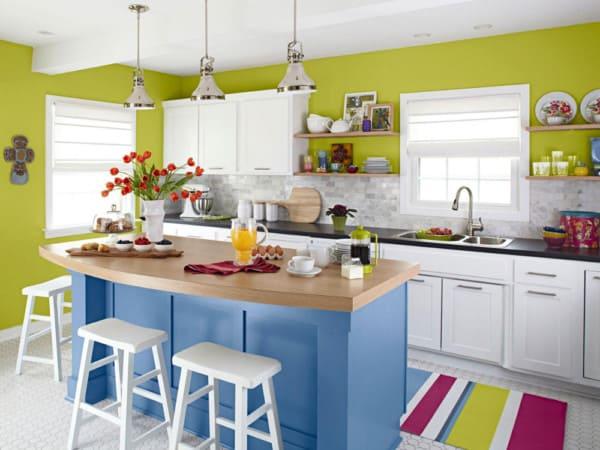 Pinta tu cocina de colores alegres - Simulador cocinas ...