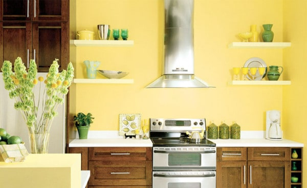 Pinta tu cocina de colores alegres - Colores recomendados para cocinas ...