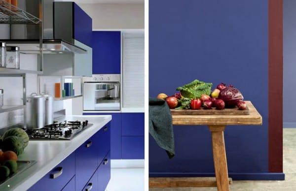 Cocina color indigo