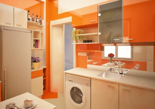 Pinta tu cocina de colores alegres - Cocinas pintadas fotos ...
