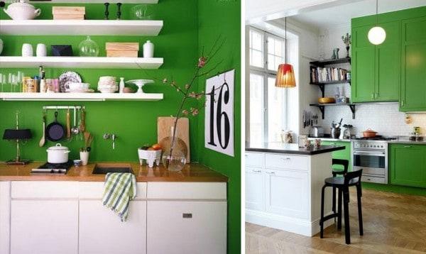 Pinta tu cocina de colores alegres - Colores para pintar una cocina ...