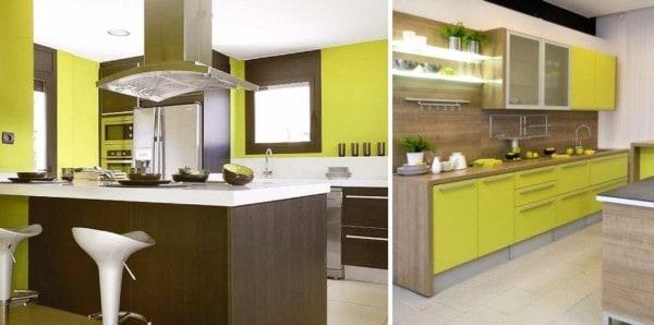 pinta tu cocina de colores alegres