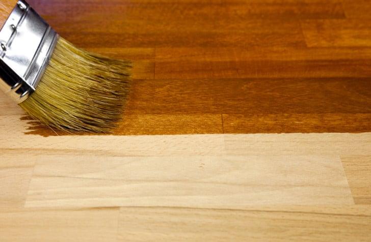 Entintado de madera