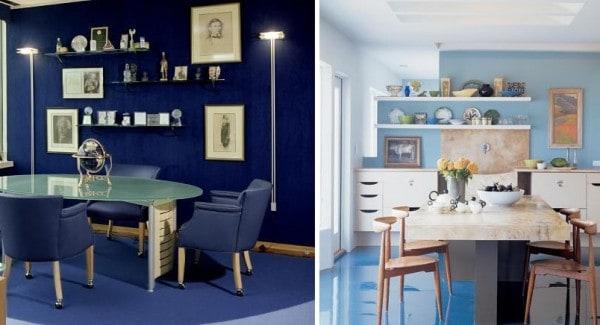 De que color pintar las paredes con un piso azul for Que color combina con el gris para pintar una casa