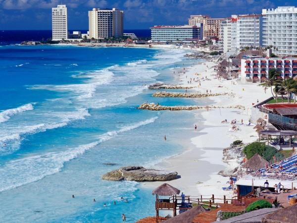 Playa en Mexico