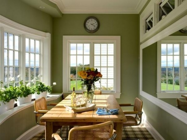 Tonalidades verdes para pintar las paredes for Master arredamento interni