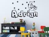 Opciones para decorar las paredes en habitaciones infantiles