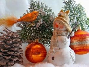 Combinaciones de colores para la decoración de Navidad