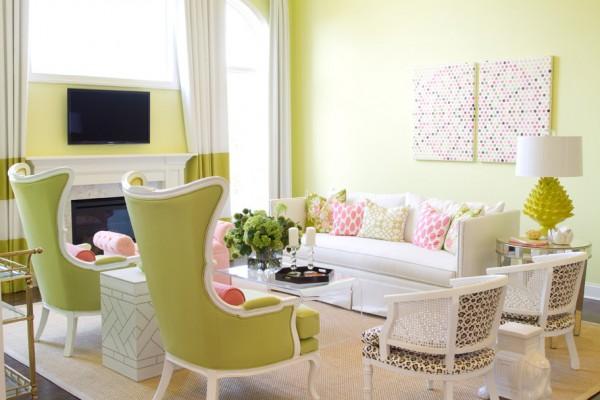 C mo combinar al verde suave usa los mejores colores Diy home decor trends 2016
