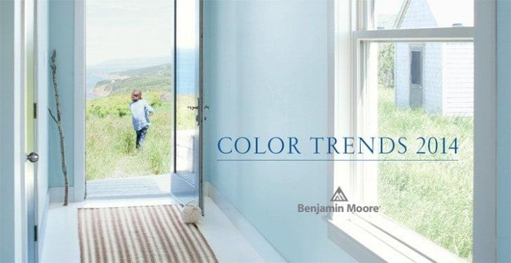 Trends 2014 Benjamin Moore