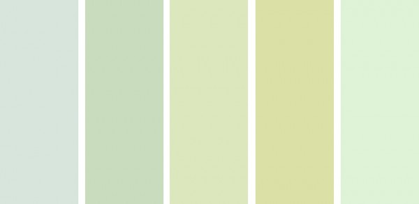 C mo combinar al verde suave usa los mejores colores for Colores suaves para paredes