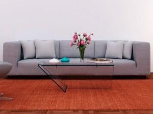 Elige el sofá del color más adecuado para tu sala
