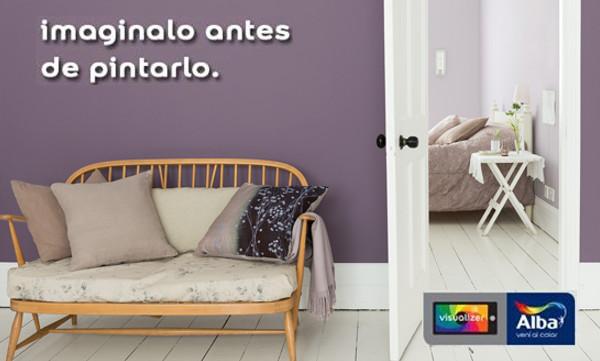 Consejos para pintar el living y una nueva aplicación de Alba ...
