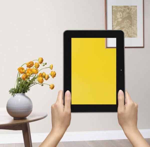 Consejos para pintar el living y una nueva aplicaci n de for Aplicacion para buscar habitacion