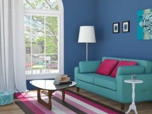Tips de pintura para cambiar la onda del living