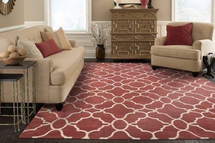 Marsala en alfombra
