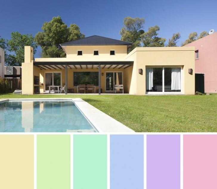 Fachada colores Suaves