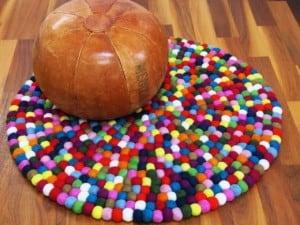 Suma color y vitalidad a tu hogar con alfombras coloridas