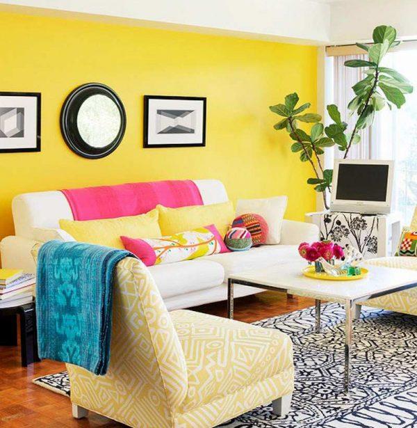 Combinaciones de colores alegres para pintar una habitaci n - Presupuesto para pintar una casa ...