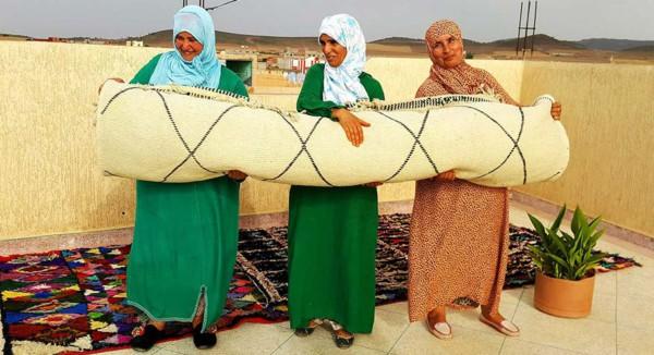 Tejedoras en Marruecos