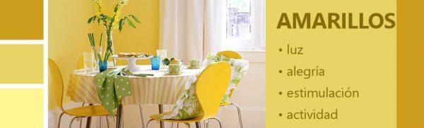Psicología de los colores amarillos