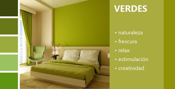 Psicología de los colores verdes