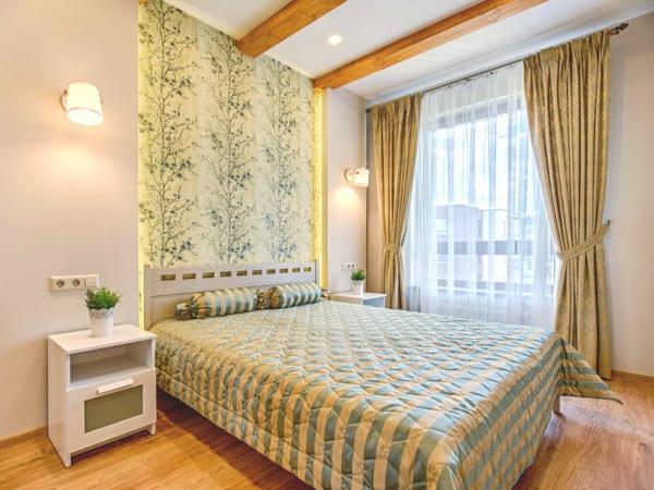 Dormitorio sencillo y elegante