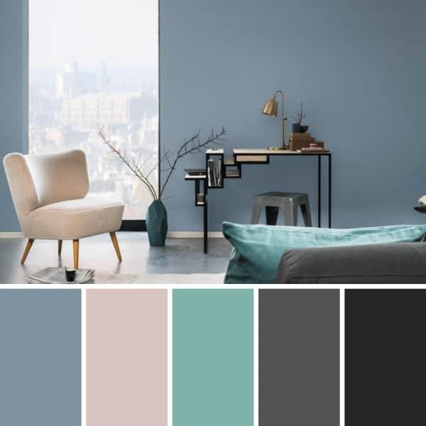 Gris humo un color m s para el 2017 for Tonos grises para pintar paredes