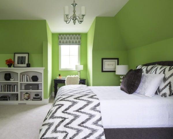 Dormitorio greenery