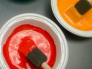 Qué colores se obtienen al mezclar rojo con ...