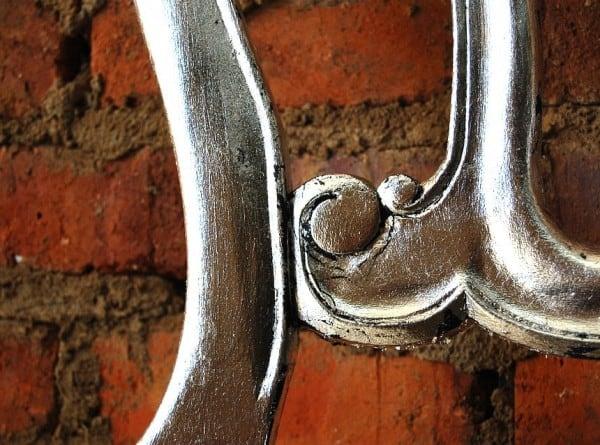Pintura metalizada reja