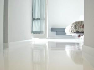 Porcelanato líquido o pavimento de resina epoxi para suelos