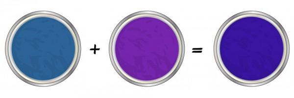 violáceo