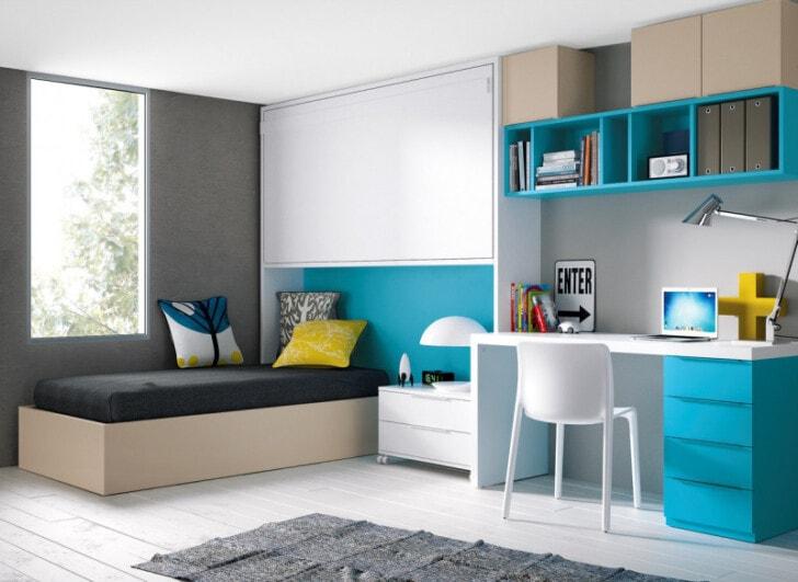 C mo combinar el turquesa en la decoraci n interior for Alfombra azul turquesa del dormitorio