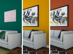 12 colores recomendados para destacar una pared