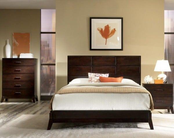 Dormitorio matrimonial beige