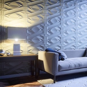 Paneles 3d en paredes