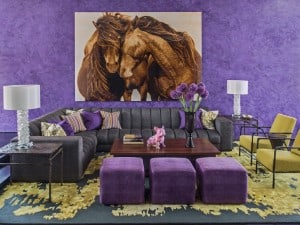 Color Pantone 2018, ultravioleta en la decoración de interiores