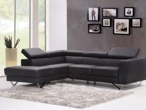 Cómo combinar tu sofá negro
