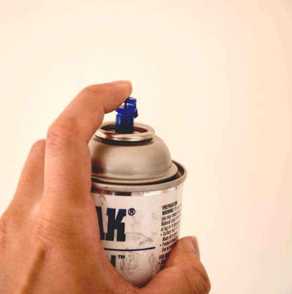 Pintando con spray