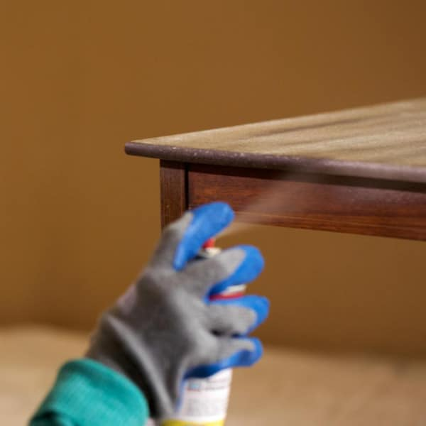 Spray para madera