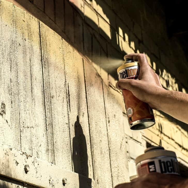 Outdoor spray paint